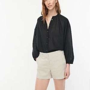 """J. Crew 4"""" Chino Shorts in Stone Size 4"""